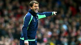Tim Sherwood was forced to defend his new tactical approach after Spurs were overrun at Arsenal.