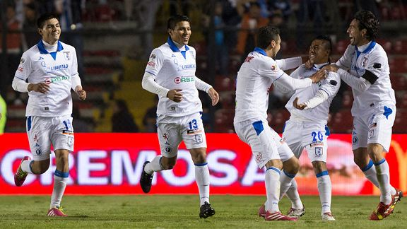 Queretaro remain at the top of Liga MX.