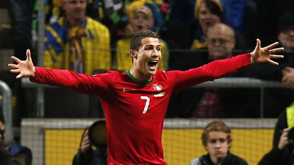 Cristiano Ronaldo capped a highly impressive year for Real Madrid by firing Portugal to the World Cup.