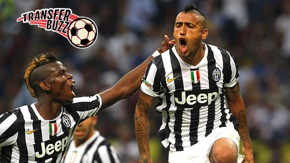Manchester United want both Paul Pogba and Arturo Vidal.
