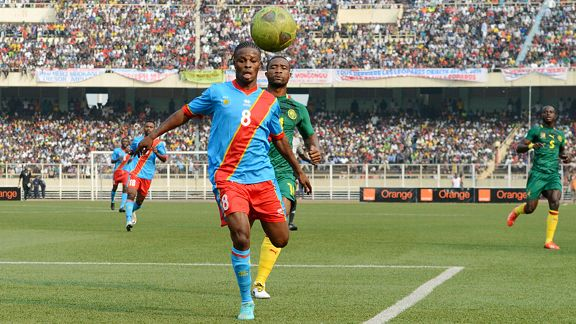 Star striker Tresor Mputu can't represent DRC at the African Nations Championship as he now plays for a foreign club.