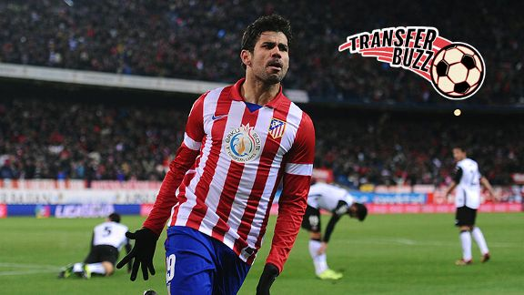 Chelsea are chasing Diego Costa as a summer acquisition.