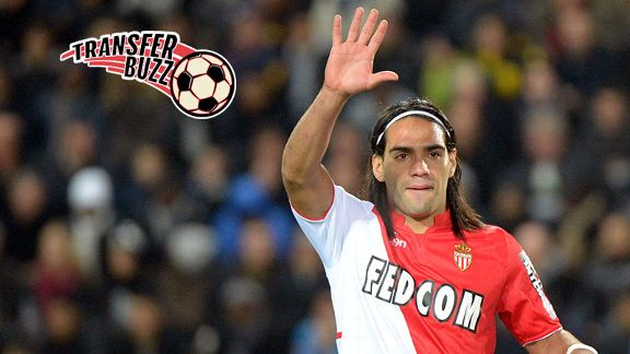 Radamel Falcao has said he can't see a move to Chelsea happening.