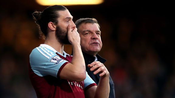 Andy Carroll, Sam Allardyce