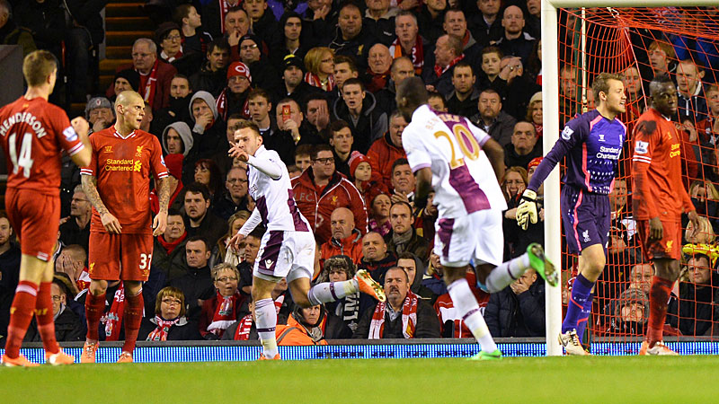 The Liverpool inquest begins after Andreas Weimann scored.
