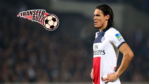 Could Edinson Cavani replace Wayne Rooney at Manchester United?