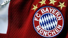 Bayern Munich's badge no longer carries EV, to denote it is a