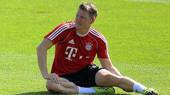 Bastian Schweinsteiger has to prove he is fully fit.