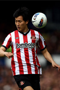 Ji Dong-Won Sunderland action