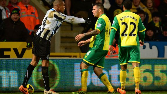 Loic Remy and Bradley Johnson kerfuffle