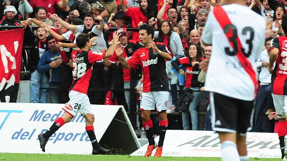 Nacho Scocco had a successful spell at Newell's Old Boys.