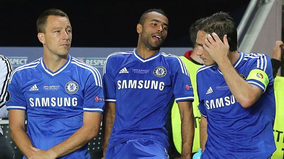 John Terry, Ashley Cole, Frank Lampard