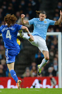 Martin Demichelis battle vs Chelsea