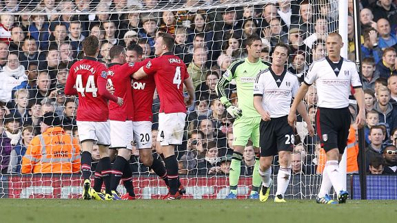 Manchester United eased to victory during November's trip to Craven Cottage.