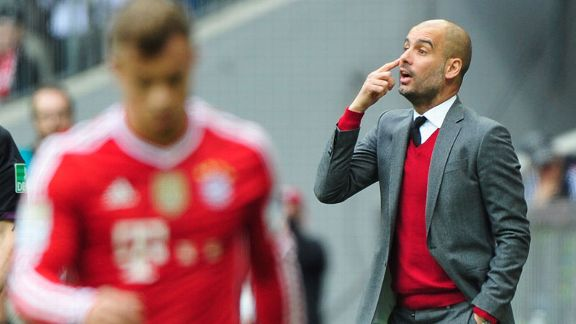Pep guardiola Bayern point