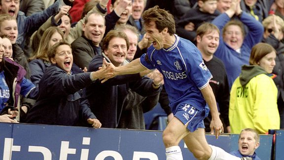 Gianfranco Zola was a true hero to every Chelsea fan.