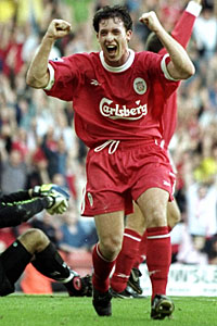 In the 90s, Robbie Fowler was one of the Premier League's deadliest finishers.