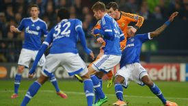 Gareth Bale Schalke vs Real Madrid