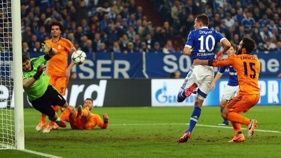 Iker Casillas save from Draxler Galatasaray vs Chelsea