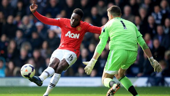 Danny Welbeck goal Man United West Brom