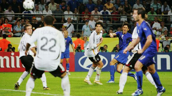 Fabio Grosso Italy vs Germany goal