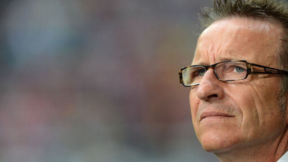 Norbert Meier is now the coach of Arminia Bielefeld.