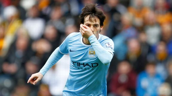 David Silva alt celeb Hull Man City