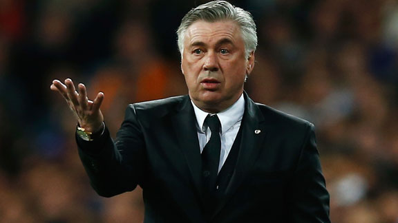 Carlo Ancelotti Real Madrid vs Barcelona