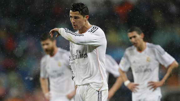 Cristiano Ronaldo was subjected to jeers from the crowd during Real Madrid's victory.