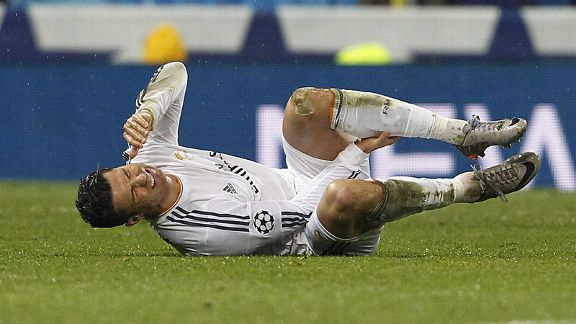 Cristiano Ronaldo came off injured during Real Madrid's win over Dortmund