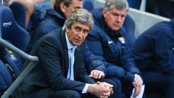 Manuel Pellegrini failed to find an answer to Sunderland's late surge.