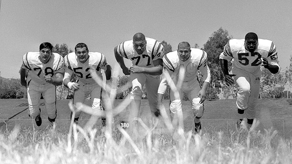Chargers Linemen