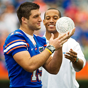 Tim Tebow & Chris Leak