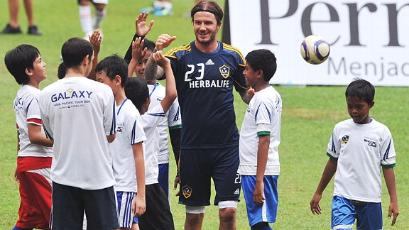 Los Angeles Galaxy in Indonesia