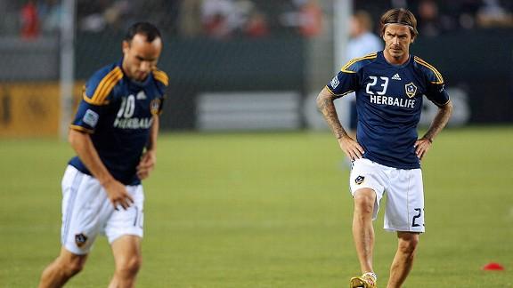 Landon Donovan, David Beckham