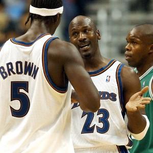 Michael Jordan, Kwame Brown