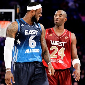 LeBron James &amp; Kobe Bryant