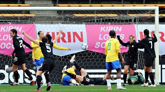 US/Brazil Soccer
