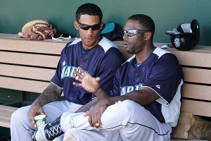 Greg Halman and Milton Bradley