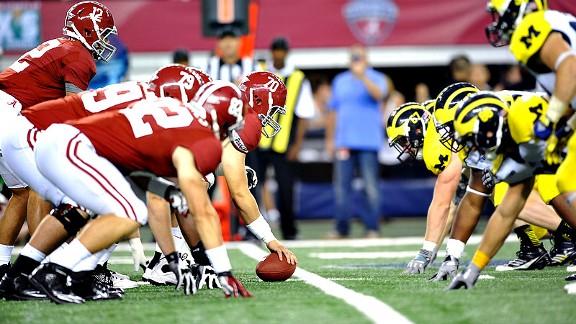 Alabama Crimson Tide offensive line