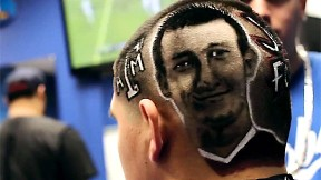 Johnny Manziel haircut