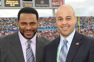 Jerome Bettis and Omar Khan
