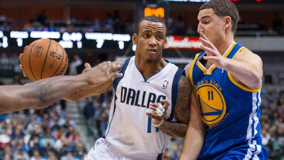 Monta Ellis and Klay Thompson