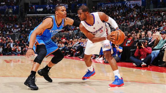 Russell Westbrook and Chris Paul