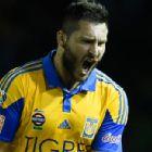 Gignac anotó el gol de la victoria de Tigres ante Jaguares en la vuelta de los cuartos de final