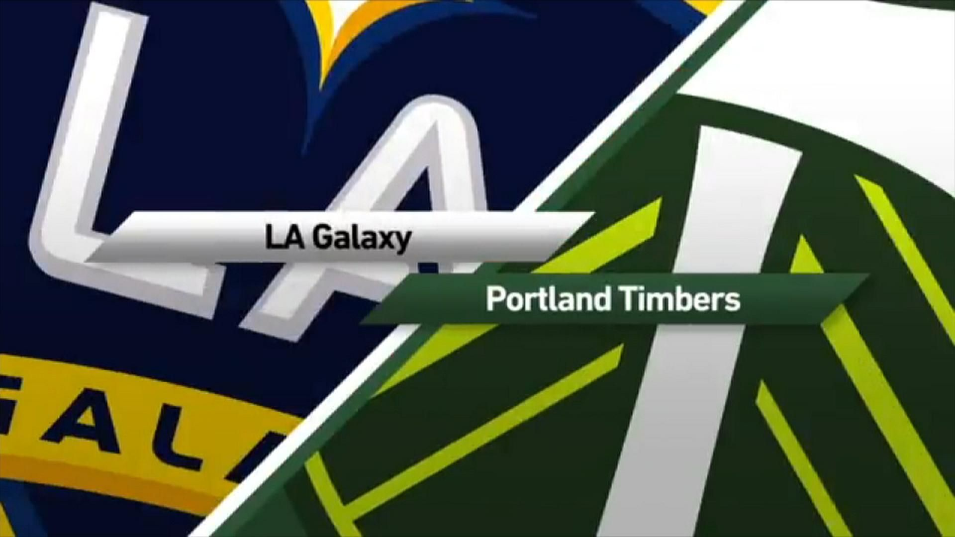 LA Galaxy 0 1 Portland Video Via MLS
