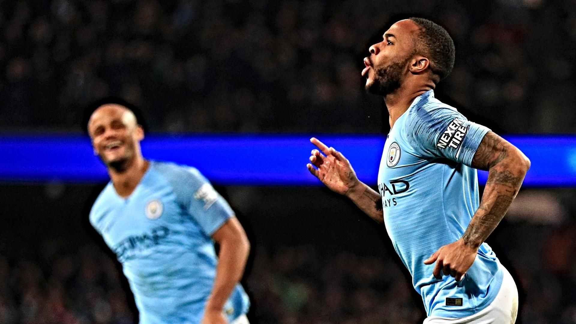 baseball-int 190309 INET SOC Highlight Sterling hat trick s869 - Raheem Sterling 9/10 with fine hat-trick as Man City swept past Watford to remain top