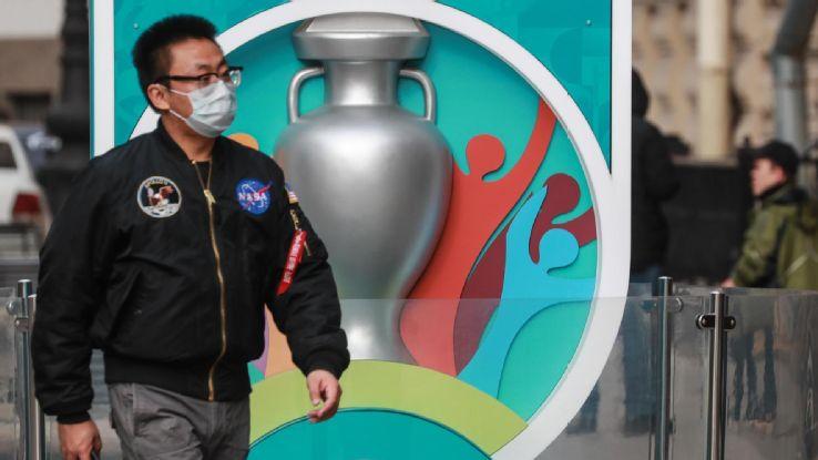 UEFA president warns season may be lost because of coronavirus pandemic