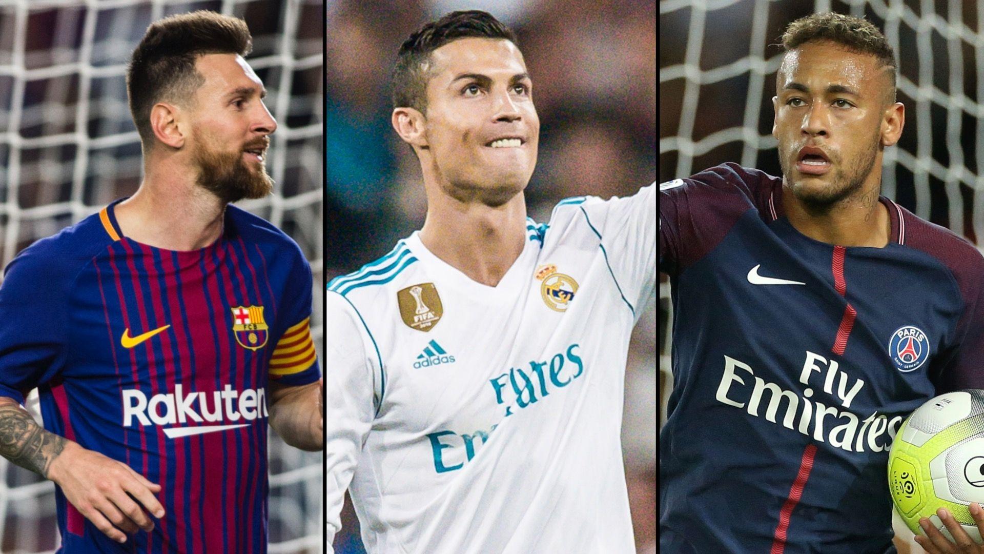 Image result for Ronaldo, Messi, Neymar