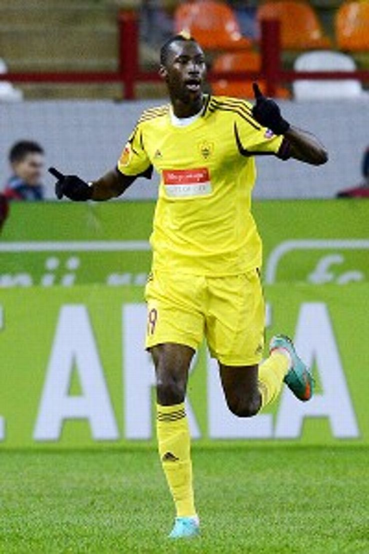 Lacina Traore put Anzhi on top of Europa League Group A with his 45th-minute match-winner.